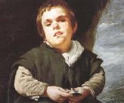 Diego Velazquez The Dwarf Francisco Lezcano (el Nino de Vallecas) (detail) (df01) oil painting picture wholesale