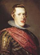 Diego Velazquez Portrait de Philippe IV en Cuirasse (df02) oil painting picture wholesale