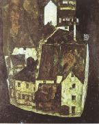 Egon Schiele Dead City III (mk12) oil painting picture wholesale