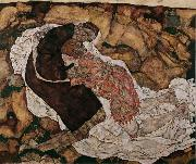 Egon Schiele Death and Maiden (mk12) oil painting picture wholesale