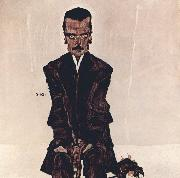 Egon Schiele Portrait of the Publisher Eduard Kosmack (mk12) oil painting picture wholesale