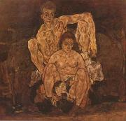 Egon Schiele The Family (mk20) oil painting picture wholesale
