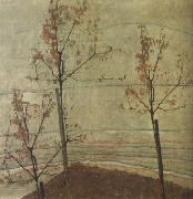Egon Schiele Autumn Trees oil painting picture wholesale