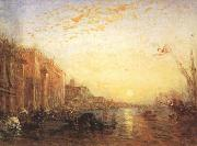 Felix Ziem Venice with Doges'Palace at Sunrise (mk22) oil painting picture wholesale