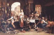 Frans Snyders Joachim Antonisz Uytewael Kitchen Scene (mk14) oil painting picture wholesale