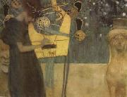 Gustav Klimt Music I (mk20) oil painting picture wholesale