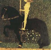 Gustav Klimt Life is a Struggle (The Golden Knight) (mk20) oil painting picture wholesale