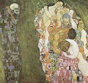 Gustav Klimt Death and Life (mk20) oil painting picture wholesale
