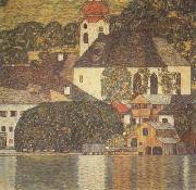 Gustav Klimt Church at Unterach on Lake Atter (mk20) oil painting picture wholesale