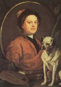 HOGARTH, William Self-portrait (mk08) oil painting picture wholesale