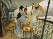 James Tissot The Gallery of Hms Callcutta (Portsmouth) (nn01) oil painting picture wholesale