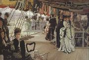 James Tissot Too Early (nn01) oil painting picture wholesale