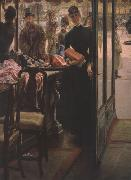 James Tissot La Demoiselle de Magasin (The Shop Girl) (nn01) oil painting picture wholesale