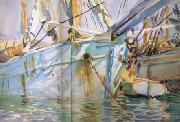John Singer Sargent In a Levantine Port (mk18) oil painting picture wholesale