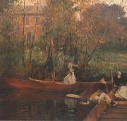 John Singer Sargent A Boating Party (mk18) oil painting picture wholesale