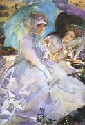 John Singer Sargent Reading (mk18) oil painting picture wholesale