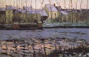 Maurice cullen Moret,Winter (nn02) oil painting artist