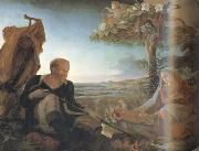 Philipp Otto Runge Rest on the Flight into Egypt (mk10) oil painting picture wholesale