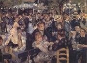 Pierre-Auguste Renoir Dance at the Moulin de la Galette (nn02) oil painting picture wholesale