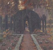 Prats, Santiago Rusinol La Glorieta (Aranjuez) (mk20) oil painting picture wholesale