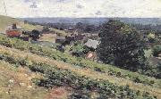 Theodore Robinson From the Hill,Giverny (nn02) oil painting picture wholesale