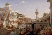 Thomas Cole The Course of Empire: The Consummation of Empire (mk13) oil painting picture wholesale