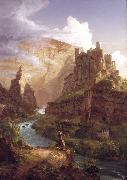 Thomas Cole Valley of the Vaucluse (mk13) oil painting reproduction