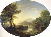 Thomas Cole The Old Mill at Sunset (mk13) oil painting picture wholesale