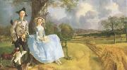 Thomas Gainsborough Robert Andrews and his Wife Frances (mk08) oil painting picture wholesale