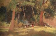 Tom roberts corroboree (nn02) oil painting artist