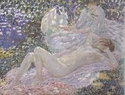 frederick carl frieseke Summer (nn02) oil painting picture wholesale