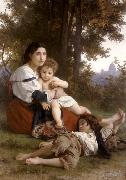 Adolphe William Bouguereau Rest (mk26) oil painting picture wholesale