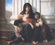 Adolphe William Bouguereau Indiget Family (mk26) oil painting picture wholesale