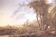 Aelbert Cuyp An Evening Landscape (mk25) oil painting picture wholesale
