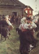Anders Zorn Midsummer Dance (nn02) oil