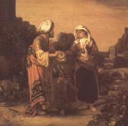Barent fabritius The Expulsion of Hagar and Ishmael (mk33) oil