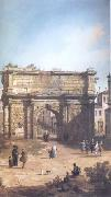 Canaletto Rome The Arch of Septimius Severus (mk25) oil painting picture wholesale