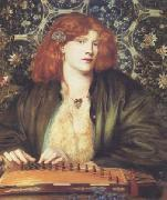Dante Gabriel Rossetti The Blue Bower (mk28) oil painting picture wholesale