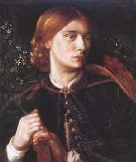 Dante Gabriel Rossetti Portrait of Maria Leathart (mk28) oil painting picture wholesale