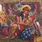 Dante Gabriel Rossetti The Weding of St George and the Princess Sabra (mk28) oil painting picture wholesale