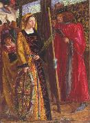 Dante Gabriel Rossetti St Catherine (mk28) oil painting picture wholesale