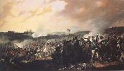 Denis Dighton The Battle of Waterloo: General advance of the British lines (mk25) oil