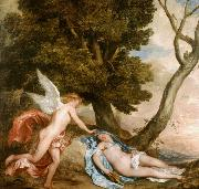Dyck, Anthony van Cupid and Psyche (mk25) oil painting picture wholesale