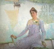 Emile Claus Portrait of Anna de Weert (nn02) oil painting artist