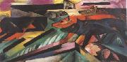 Franz Marc The Wolves (mk34) oil painting picture wholesale