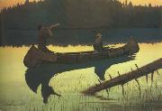 Frederic Remington The Wolvs Sniffed Along the Trail,but Came No Nearer (mk43) oil painting picture wholesale