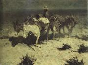 Frederic Remington The Desert Prospector (mk43) oil painting picture wholesale