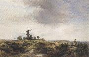 George cole The Windmilll on the Heath (mk37) oil painting picture wholesale