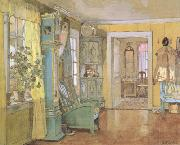 Gerhard Munthe Antechamber in the Artist's Home (nn02) oil painting picture wholesale