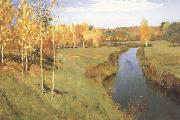 Isaac Ilich Levitan Golden Autumn (nn02) oil painting picture wholesale